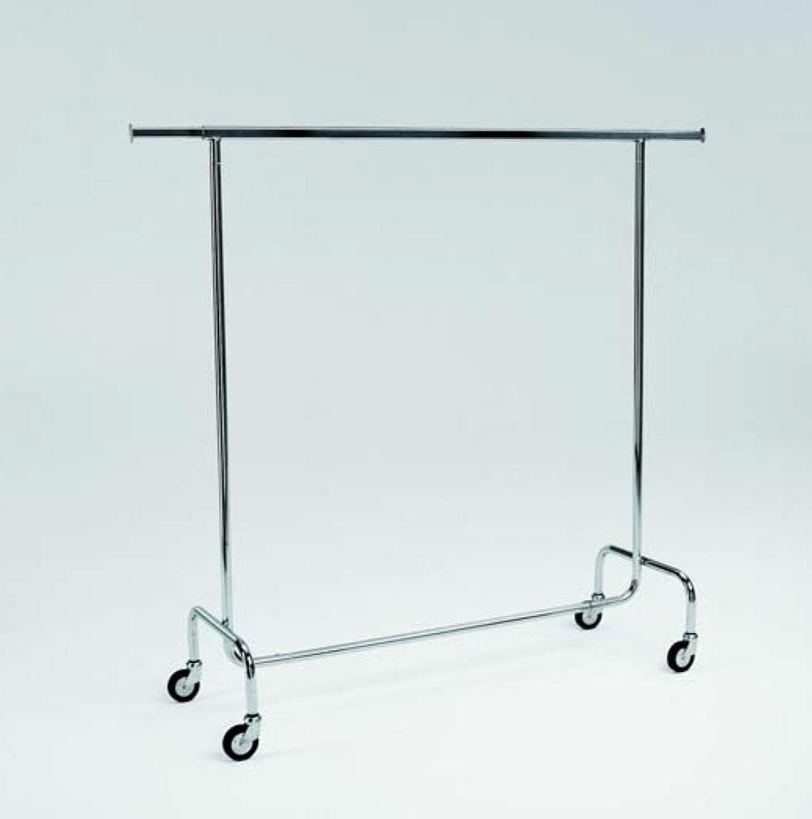 Supporto porta abiti smontabile regolabile in larghezza - Porta abiti con ruote ...